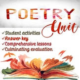 Thematic Poetry Unit (Digital copy included)