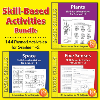 Thematic Skill-Based Activities for Grades 1-2 {Bundle}