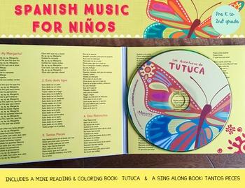 Thematic Spanish Songs- Las Aventuras de Tutuca