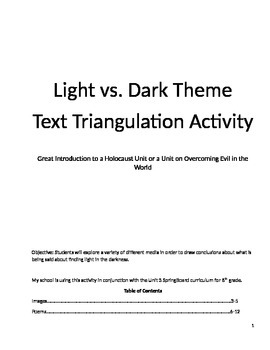 Thematic Text Triangulation: Finding Light in the Darkness