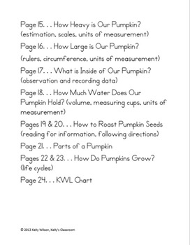 Apples and Pumpkins Measurement BUNDLE