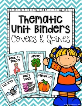 Thematic Unit Binder Covers