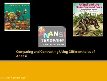 Thematic Unit: Comparing and Contrasting using Folktales