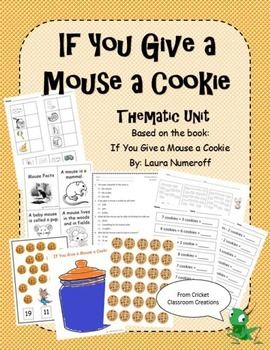 Thematic Unit - If You Give a Mouse a Cookie