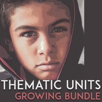 Thematic Unit Plans, Growing Bundle: Inquiry Based Lesson Plans