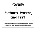 Thematic Unit - Poverty in Pictures, Poems, and Print