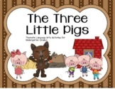 Thematic Unit: The Three Little Pigs - Language Arts Bundle Pack