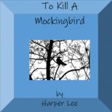 "Thematic Unit ""To Kill a Mocking Bird"""