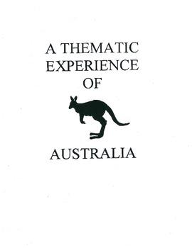 Thematic Unit of Australia