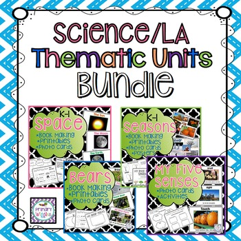 Thematic Units for Kindergarten and 1st Grade