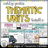 Thematic Units Bundle {Early Years Integrated Units} | Dis