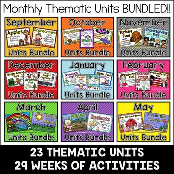 Thematic Units Mega Bundle