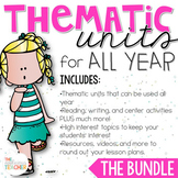 Thematic Units for All Year