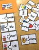 Thematic Vocabulary Puzzles: Set 1 - Beginning ELL Activities or Center