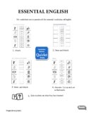 Thematic Vocabulary Worksheets & Flashcards - Intermediate