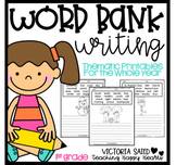 Thematic Word Bank Writing