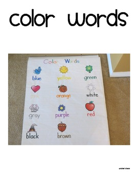 Thematic Word Wall Posters