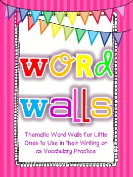 Thematic Word Walls