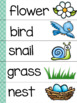 Thematic Word Walls for Little Writers *Spring Edition*