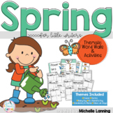 Thematic Word Walls for Little Learners *Spring Edition*