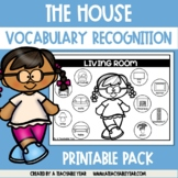 Thematic Words The House | Language Worksheets | Great for ESL