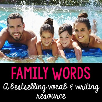 Thematic Words {in English and Spanish} GIANT BUNDLE