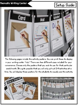 Thematic Writing Center *GROWING BUNDLE*