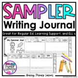 Writing Journal with Sentence Starter   Differentiated Wri