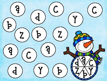 Thematic math and language spinner games