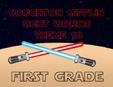 Theme 10 Houghton Mifflin sight words {1st Grade} STAR WAR