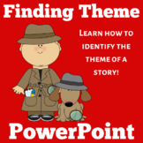 Theme PowerPoint | Teaching Theme Activity