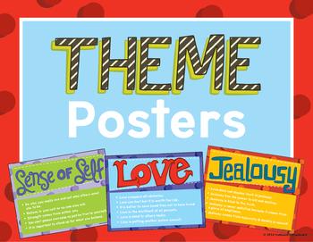 Theme Posters / Determine Theme / Identify Theme / Find Theme in Literature