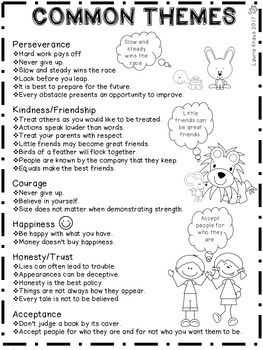 Theme - Engaging Activities to Identify the Theme of a Story
