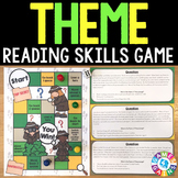 Teaching Theme Task Cards Game {Reading Comprehension Passages and Questions}