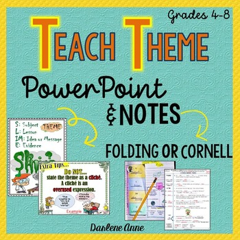 teaching theme powerpoint teaching resources | teachers pay teachers, Powerpoint templates