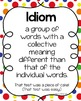 Idioms: Activities, Game, and Posters for Practice & Review