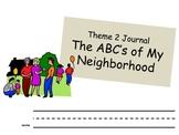 Theme 2 My Neighborhood Journal