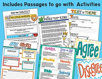 Theme Statements - Teaching Theme - Theme Bundle - Finding Theme in Literature