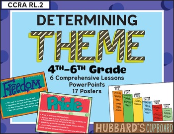 Teaching Theme/ Determining Theme Statement/  Finding Theme in Literature Bundle