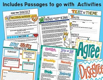 Teaching Theme/ Determining Theme Statement/  Finding Theme in Literature Bundle