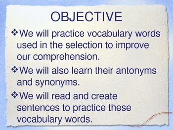 Theme 3 Selection 1 And Then What Happened Paul Revere Vocabulary