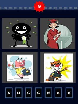 Theme: 4 Pics 1 Word Powerpoint Game