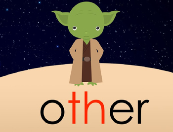 Theme 5 Houghton Mifflin sight words {1st Grade} STAR WARS INSPIRED