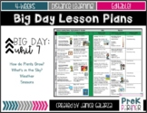Theme #7: Big Day Lesson Plans {{EDITABLE}}