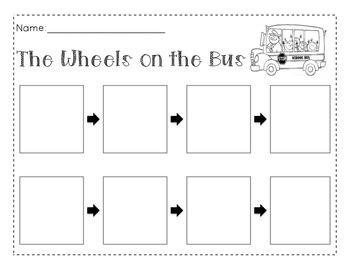 Theme 7- Wheels on the Bus (Flow Map)