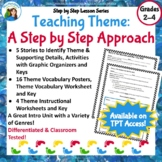 Theme: A Step by Step Modified Approach to Teaching Theme