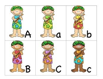Theme ABC's:  Aloha ABC's
