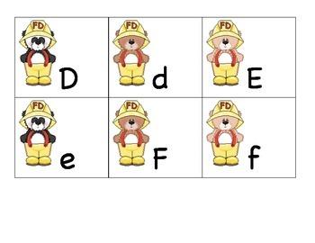Theme ABC's: Firebear ABC's