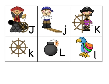 Theme ABC's Pirates