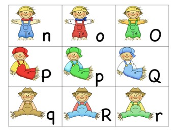 Theme ABC's:  Scarecrows ABC's